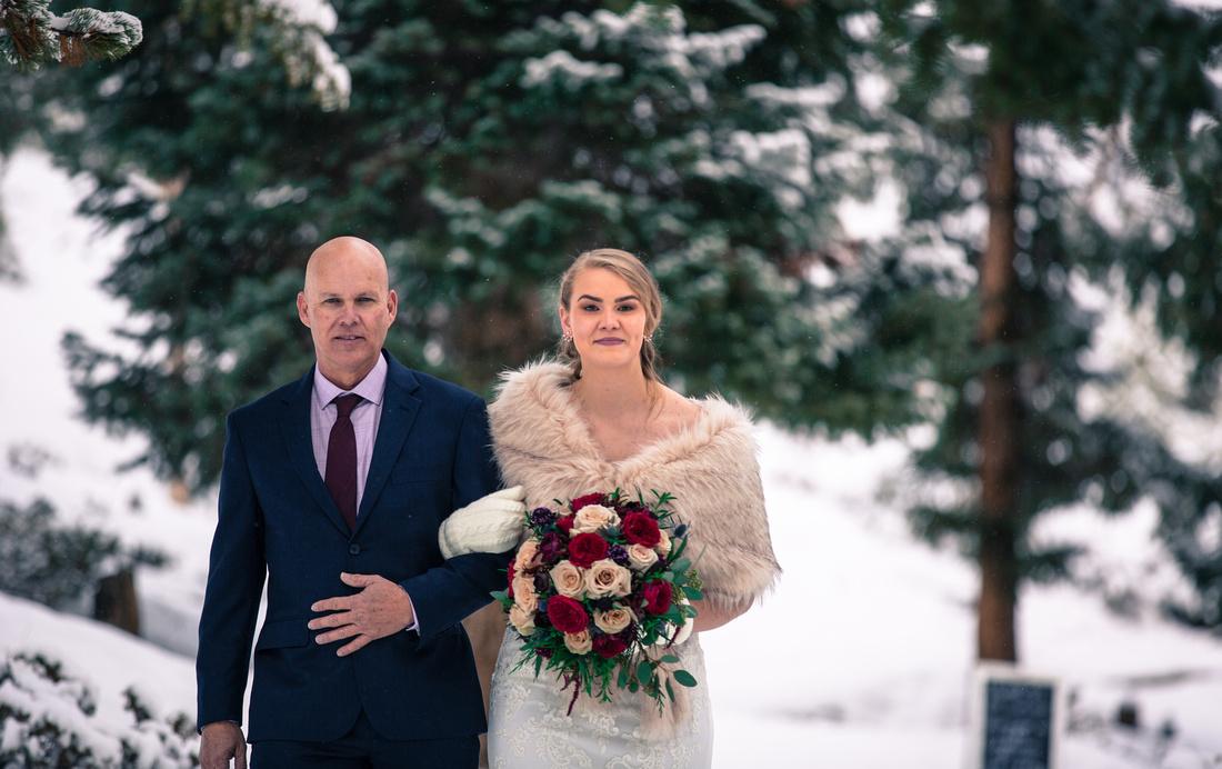 Small wedding photographer Sapphire Point, Dillon, Colorado