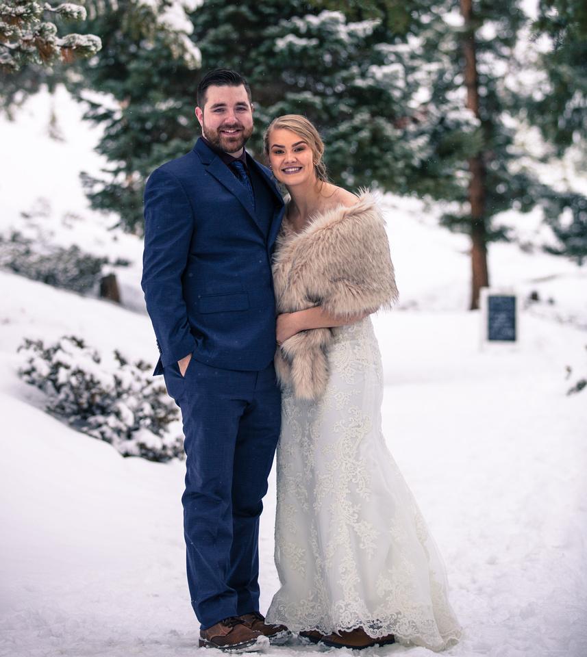 small wedding photographer sapphire point colorado
