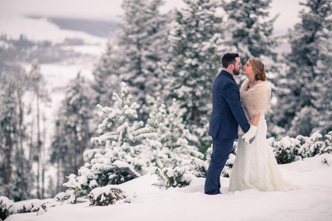 Wedding photographer Sapphire Point Colorado