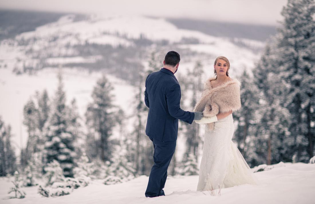 Wedding photography Breckenridge Colorado