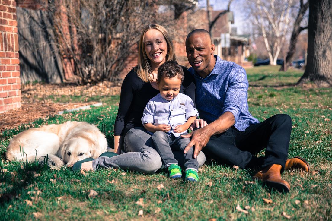 Family and pet potraits Denver Colorado