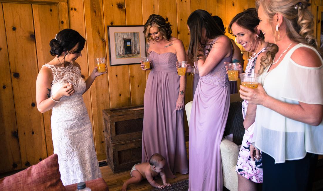 small wedding photography Breckenridge