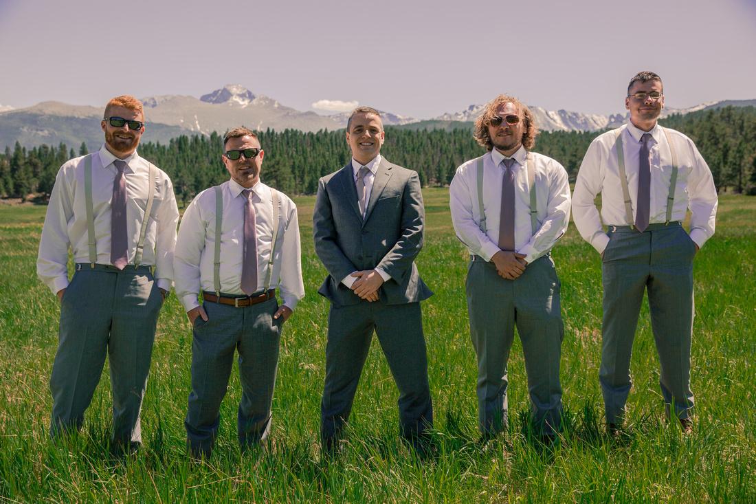 small wedding photography Boulder Colorado