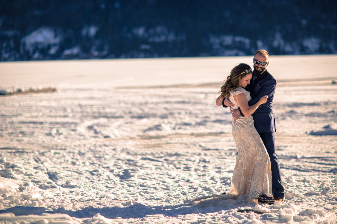 Small wedding photographer Grand Lake Colorado