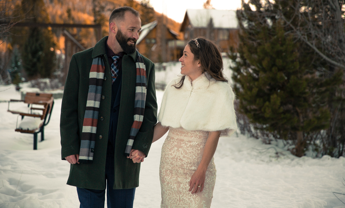 Small wedding photography Breckenridge Colorado