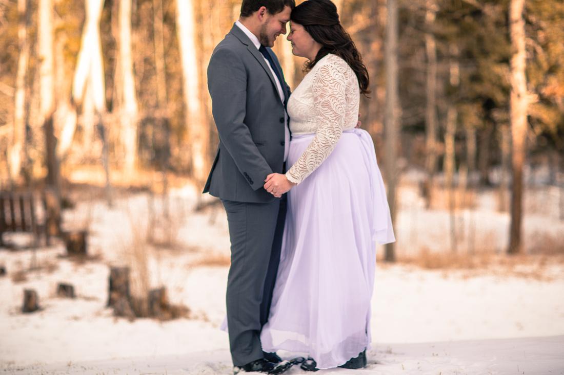 small wedding photographer Vail Colorado