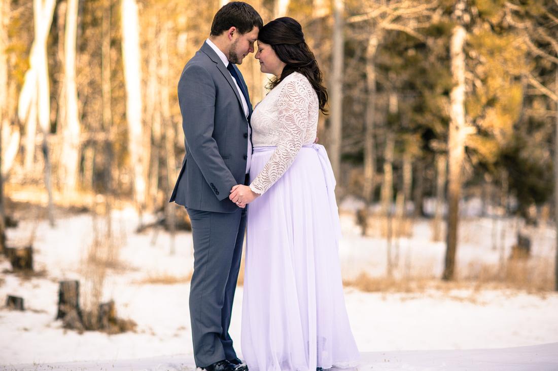 small wedding photography Evergreen