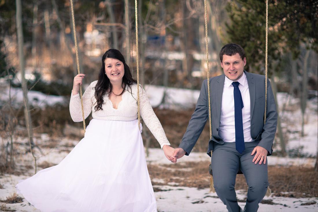 colorado mountain elopement photographer