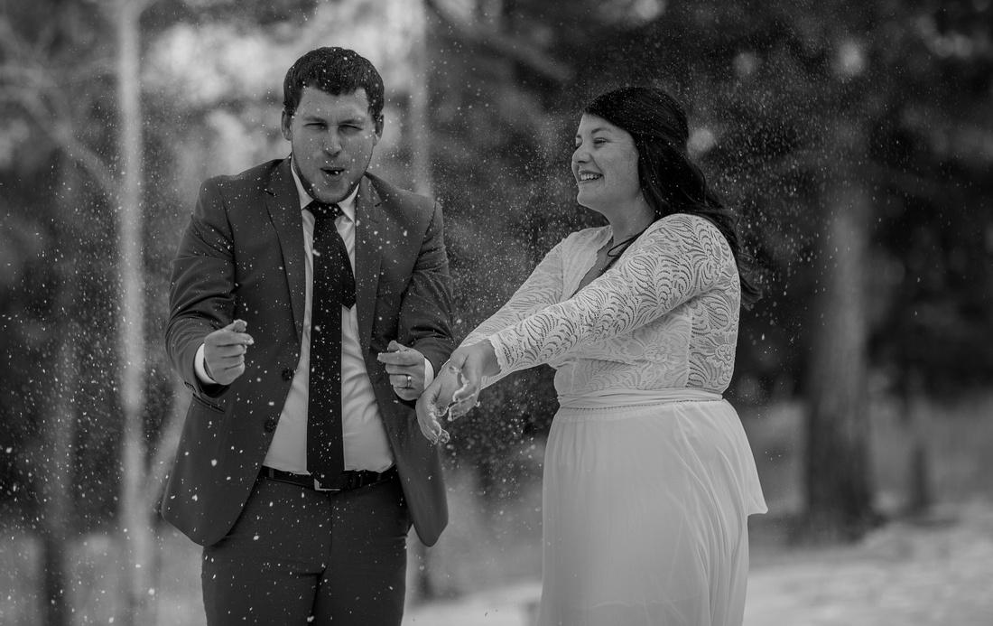 small wedding photographer Breckenridge Colorado