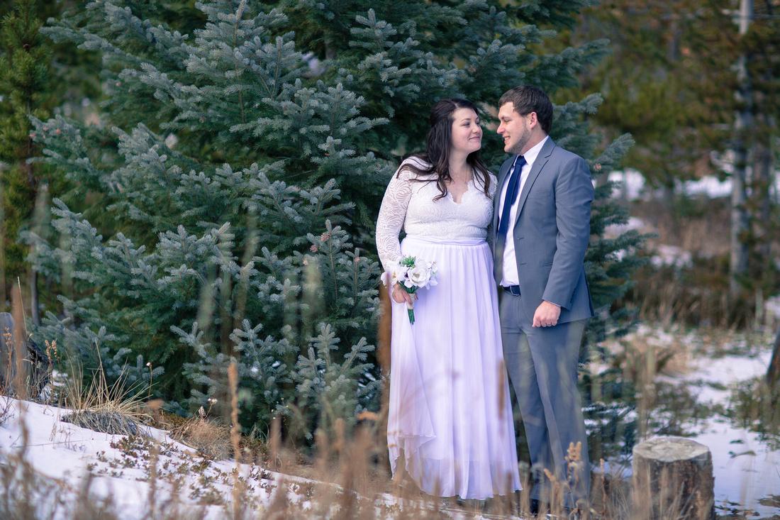 Wedding photographer Grand Lake Colorado