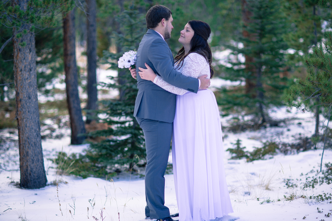 wedding photography small grand lake