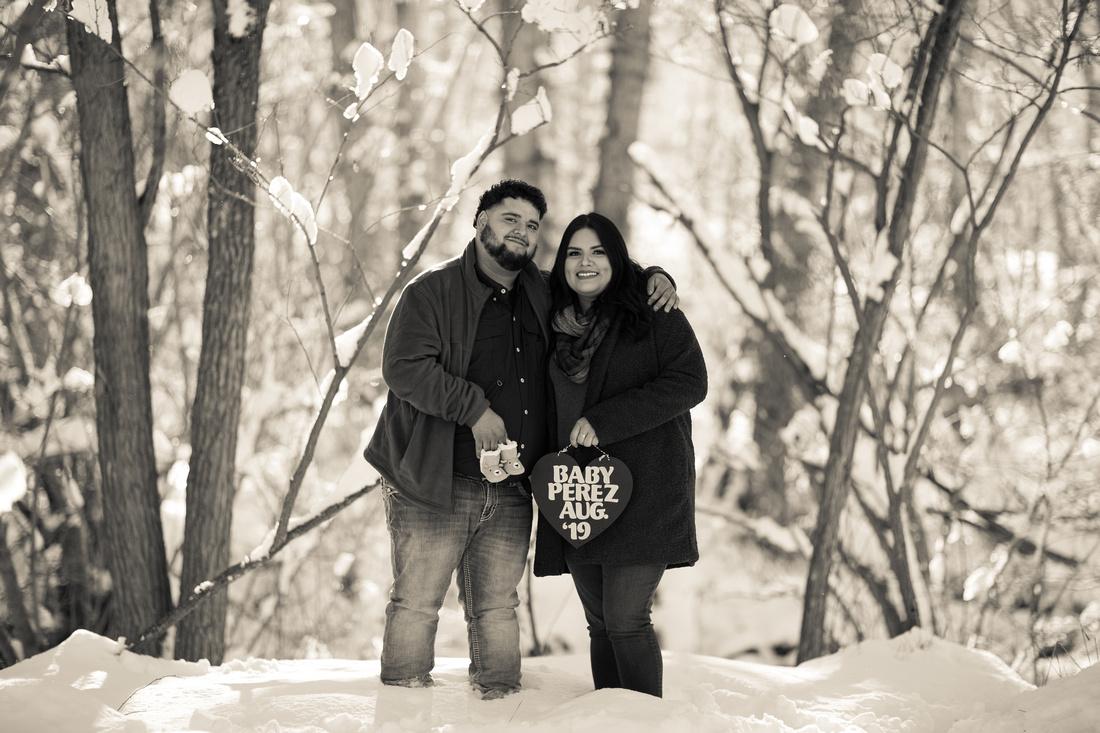 Denver couple portraits