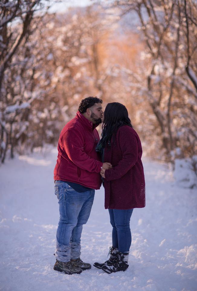 winter family photographer Denver