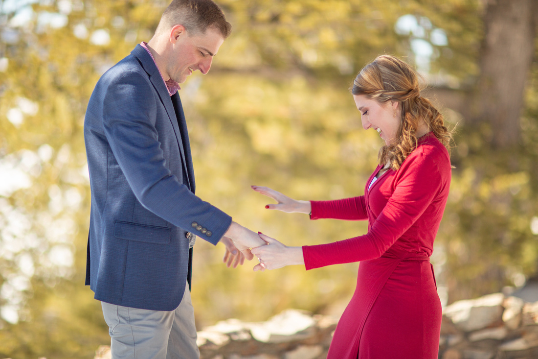 elopement photographer sapphire point colorado