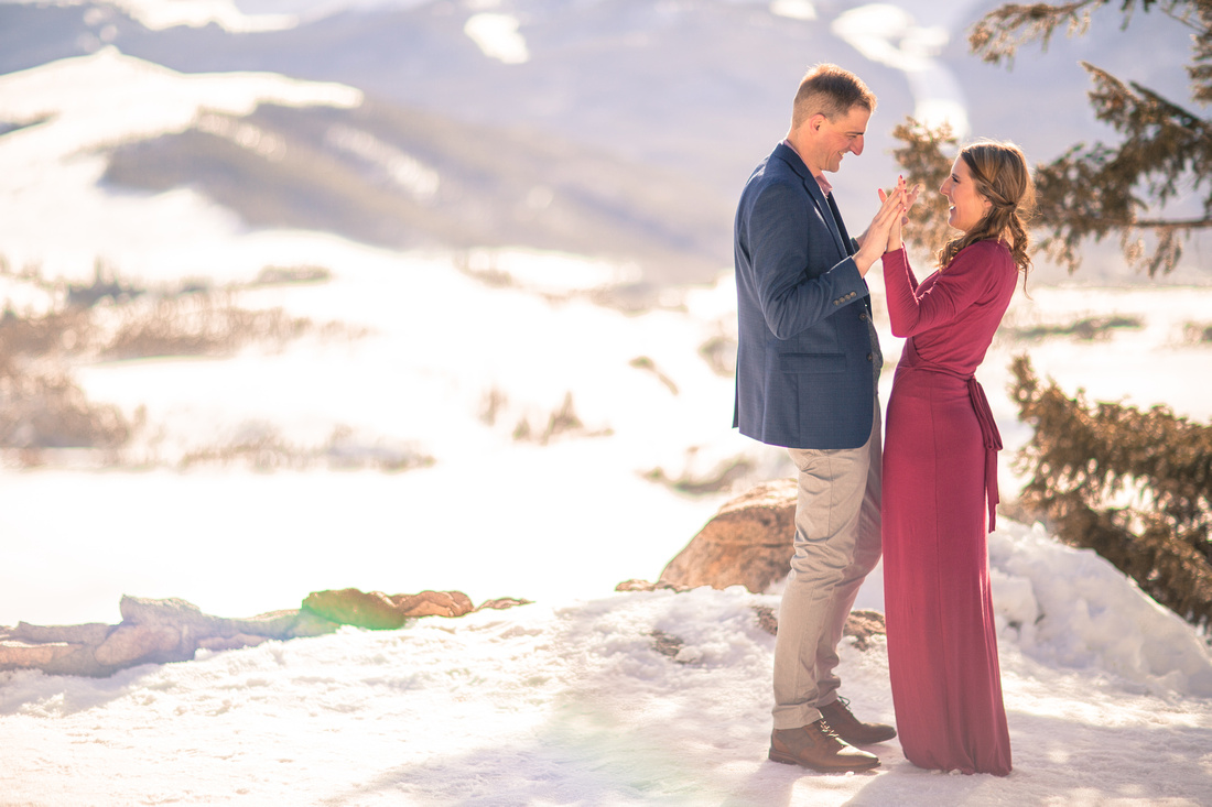 sapphire point engagement photographer