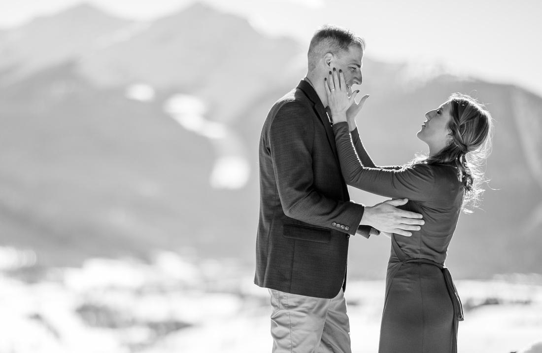 engagement photography breckenridge colorado
