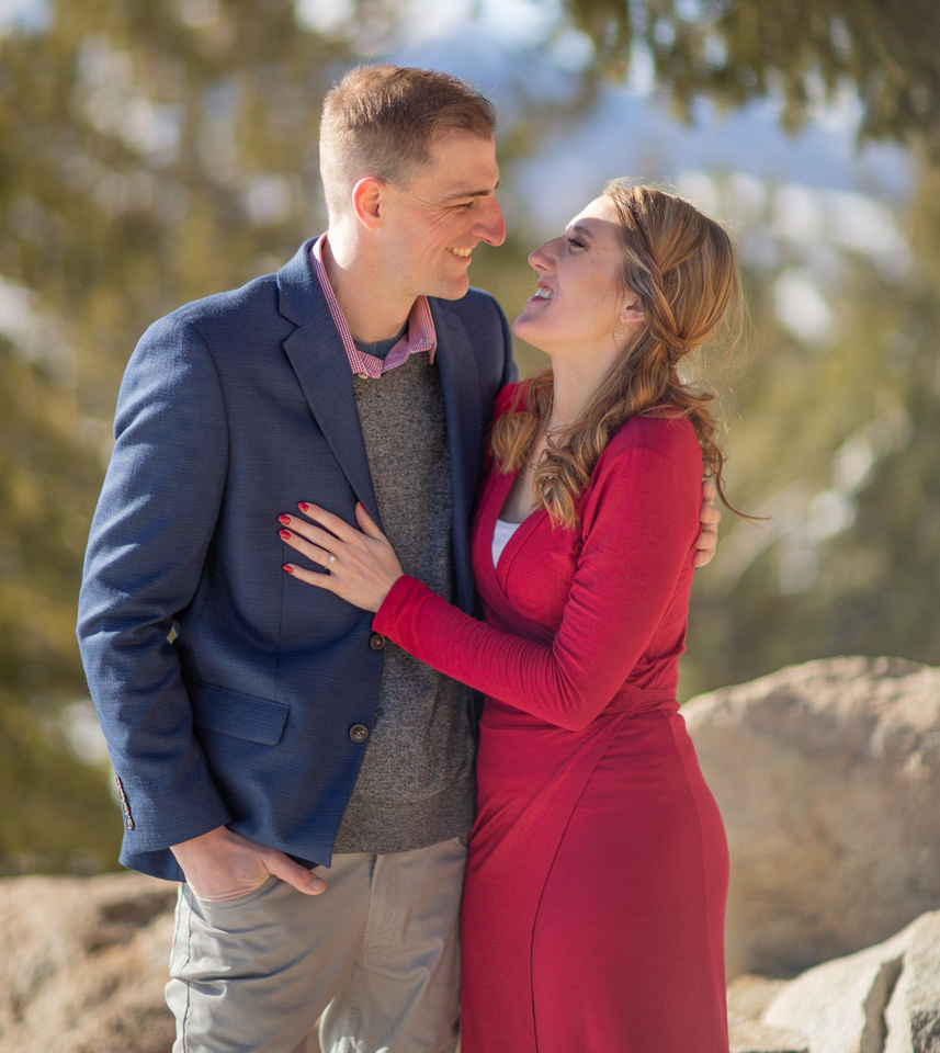 breckenridge engagement photographer