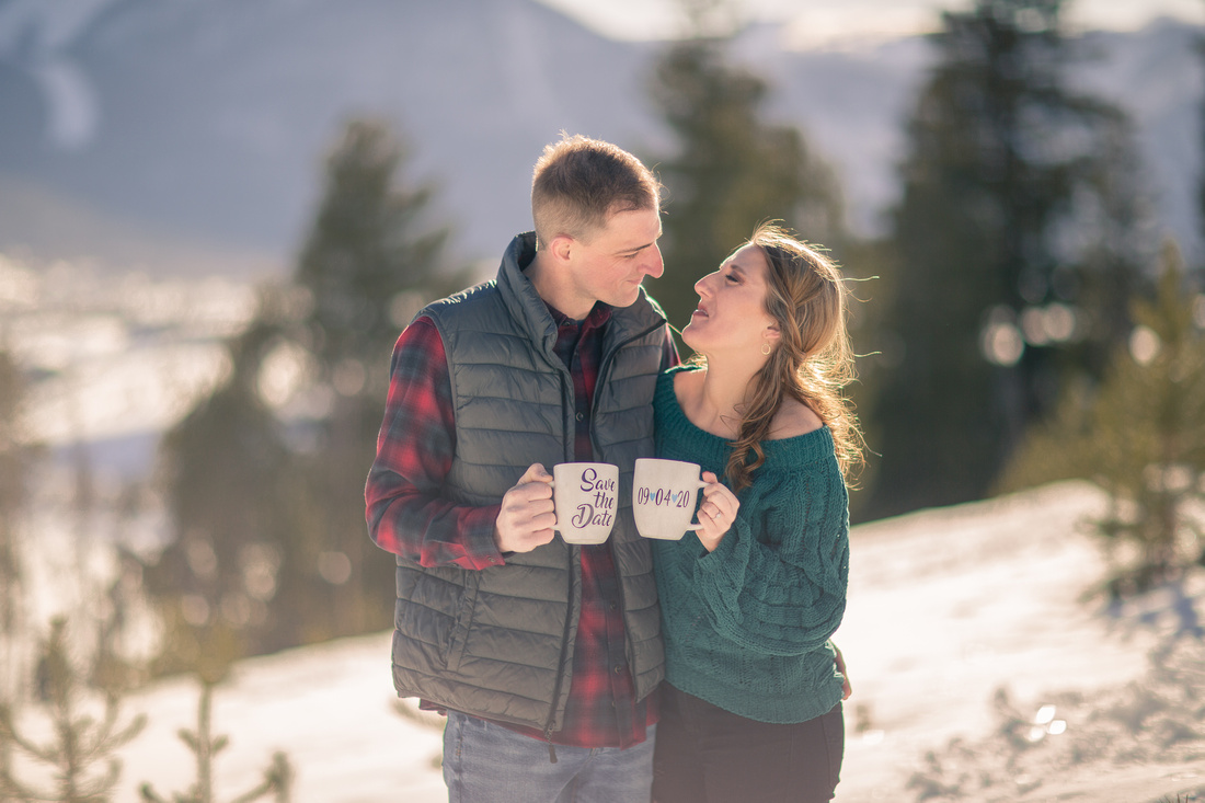 breckenridge engagement portraits