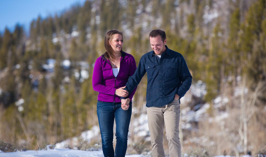 Grand Lake Engagement photography